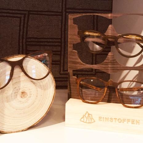 Einstoffen Holzbrillen aus der Schwei-min